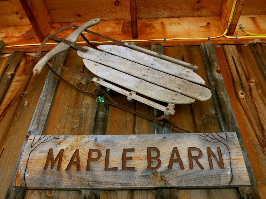 Ioka Valley Farm Maple Barn