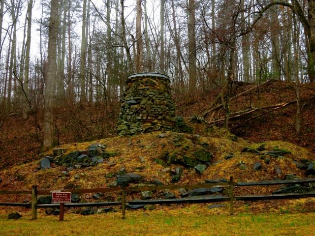 Iron Furnace from 1700's, Chancellorsville VA