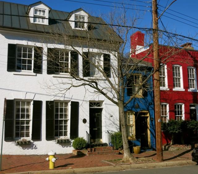Skinny House aka Spite House, Alexandria VA