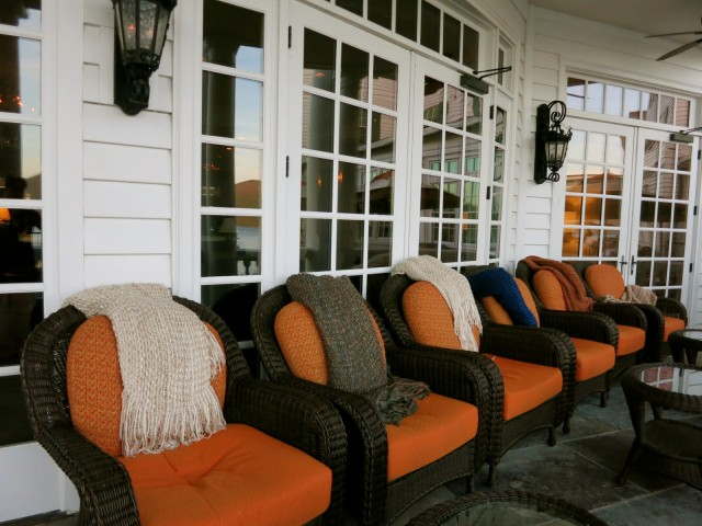 Chairs for Cool Nights, Sagamore Resort