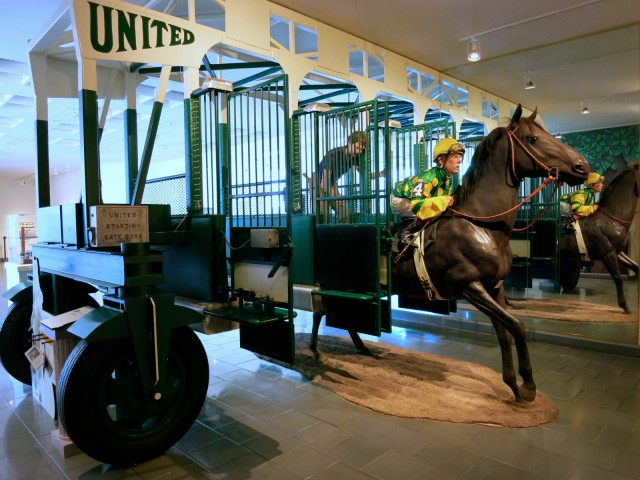National Museum of Racing Entryway, Saratoga Springs NY