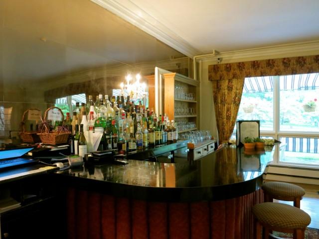 Bar at Four Chimneys Inn