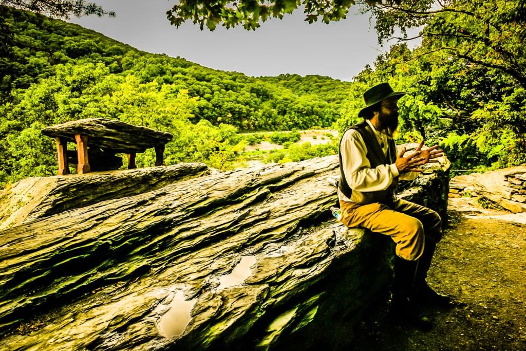 Reenactor - Harpers Ferry