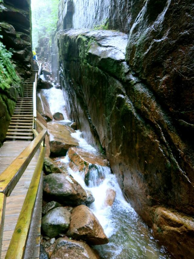Flume Gorge, Franconia Notch NH