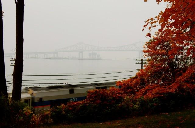 Tappan Zee Bridge in Mist, Tarrytown NY