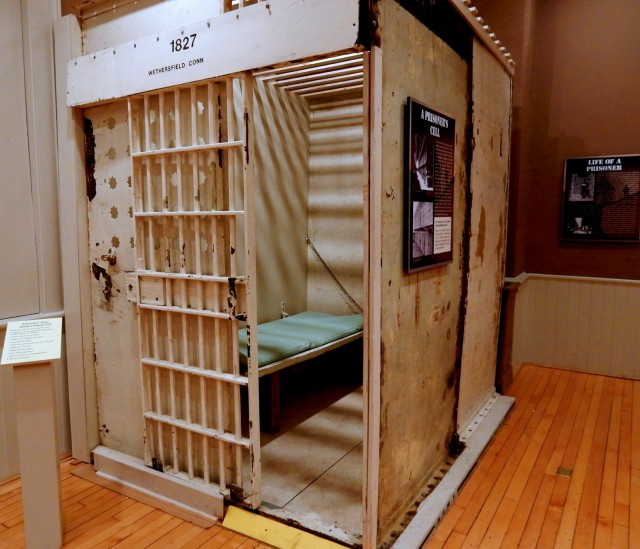 Wethersfield Prison Cell