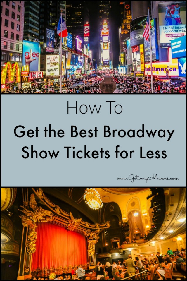 Get the Best Broadway Show Tickets For Less: a how-to