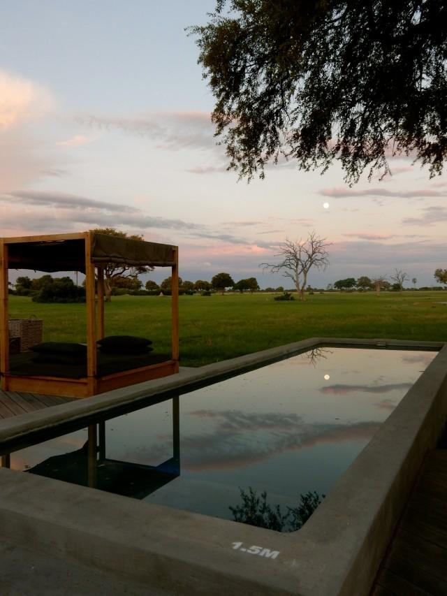 Linkwasha Camp pool