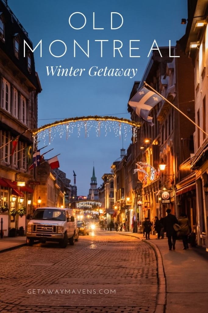 When the mercury drops and other places close up shop for the winter, Old Montreal positively sparkles. Plan a winter getaway with these bright ideas. #Montreal #wintergetaway