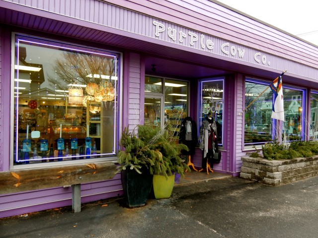 Purple Cow Gift Shop, Wakefield RI