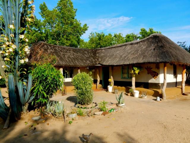 Village Headman homestead, near Hwange Park, Zimbabwe