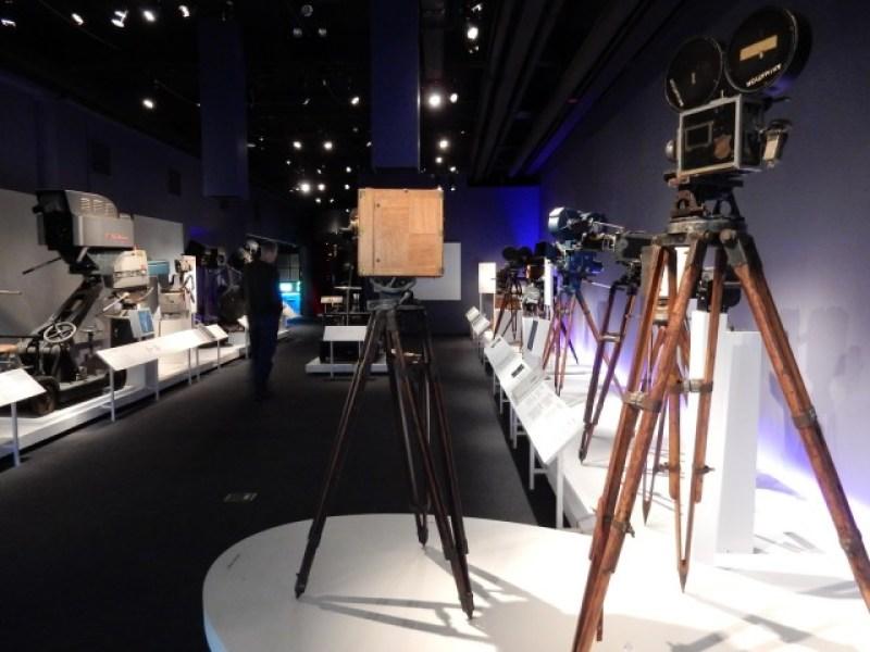 Movie Cameras Timeline, MOTMI, Queens NY