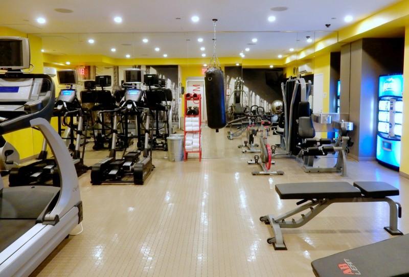 NU Hotel Fitness Center, Brooklyn NY