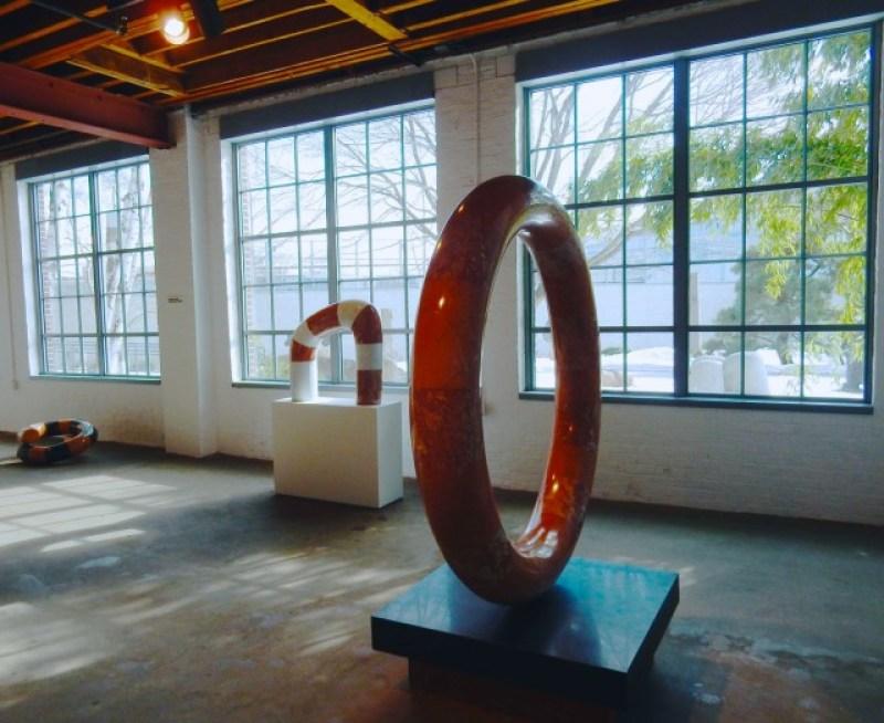 Noguchi Museum Gallery, Long Island City NY