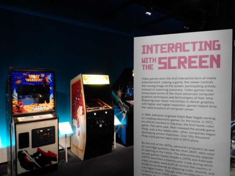 Video Games, Museum of the Moving Image, Long Island City NY