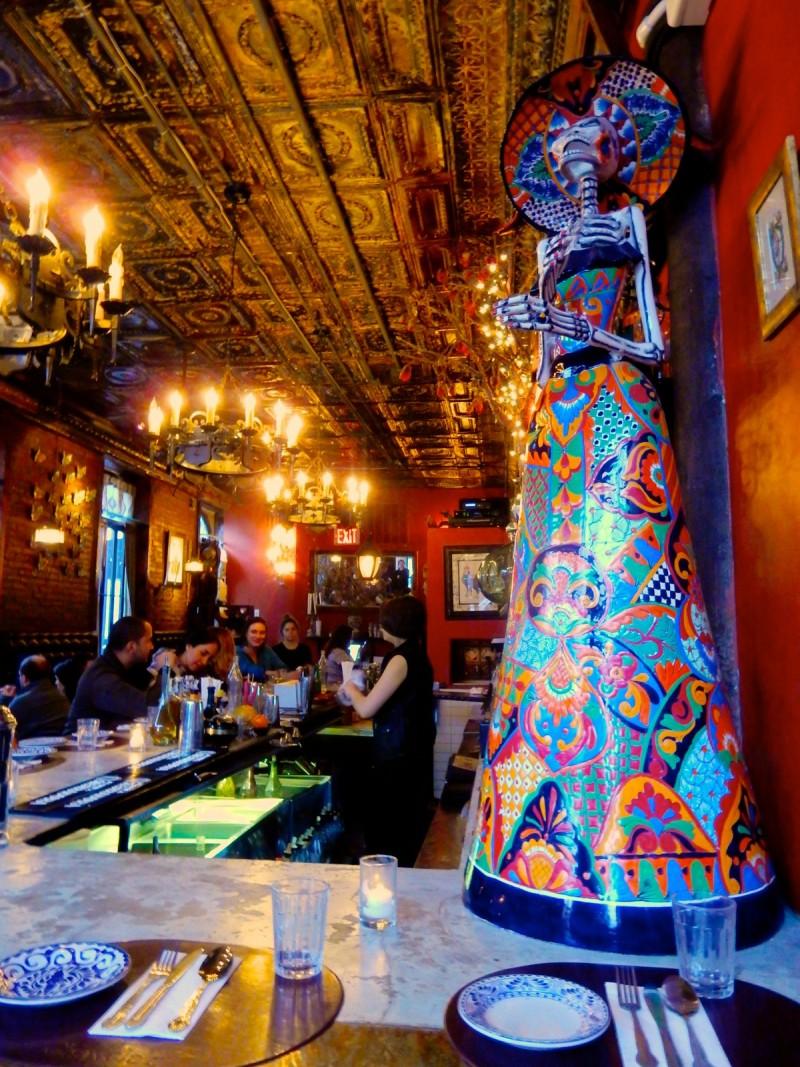 Chavela's Restaurant, Franklin St. Brooklyn NY