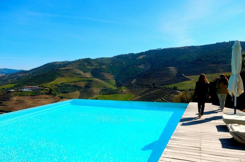 Quinta Do Crasto Estate Infinity Pool, Portugal