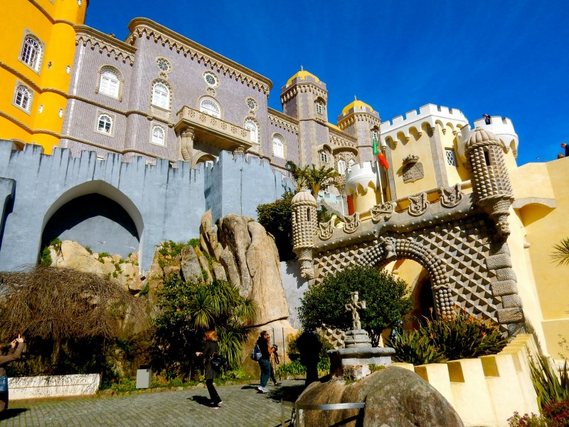 Whimsy of Pena Palace, Portugal