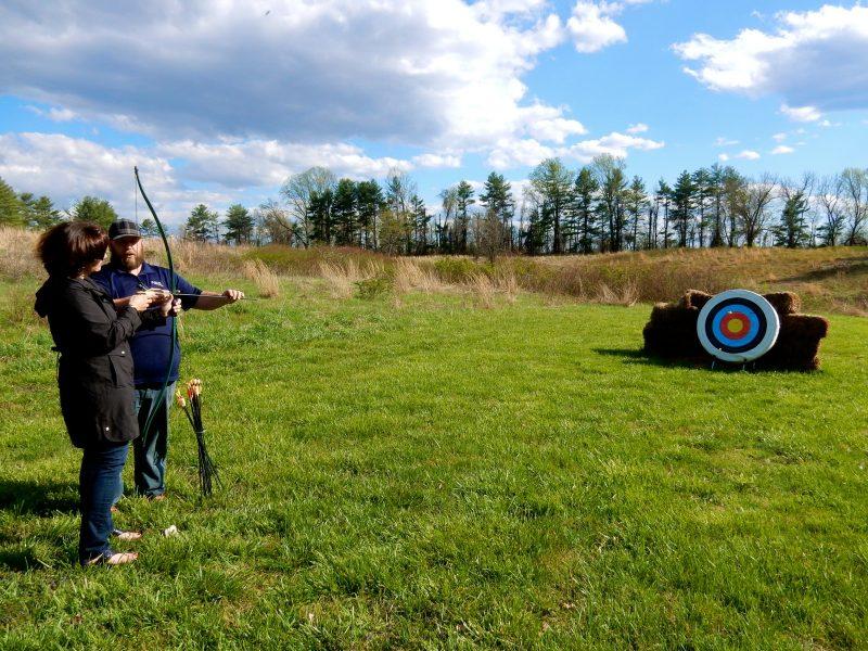 Archery at Airlie Resort, Warrenton VA