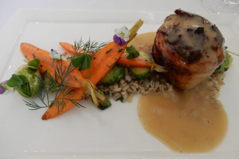 Chicken, Garden Bistro, Airlie Resort, VA