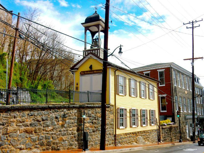 Firehouse Museum, Ellicott City MD @GetawayMavens