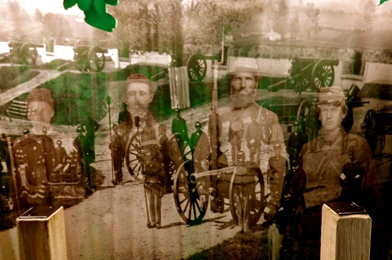 Montage, Monocacy National Battlefield, Frederick MD