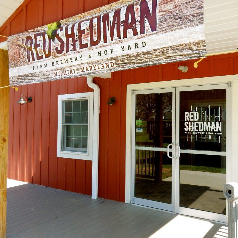 Red Shedman, Mt. Airy MD @GetawayMavens