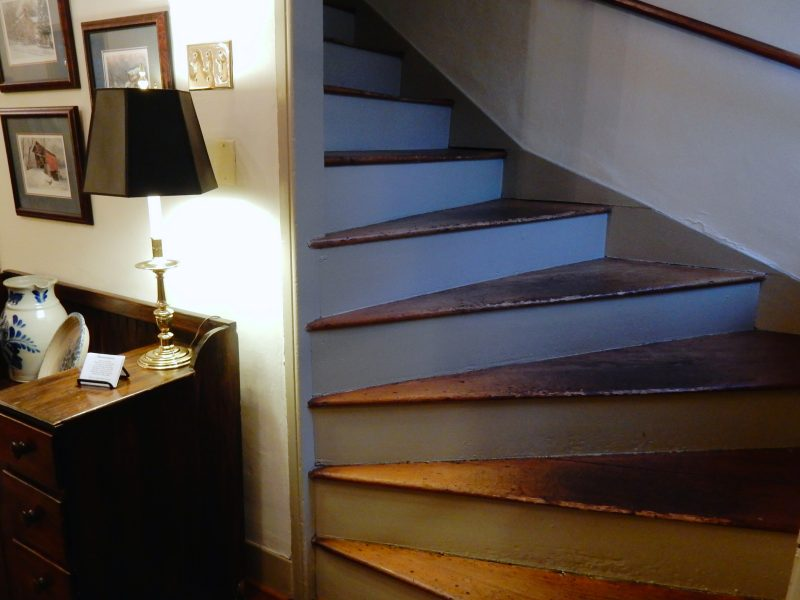 Stairs, Wayside Inn, Ellicott City MD @GetawayMavens