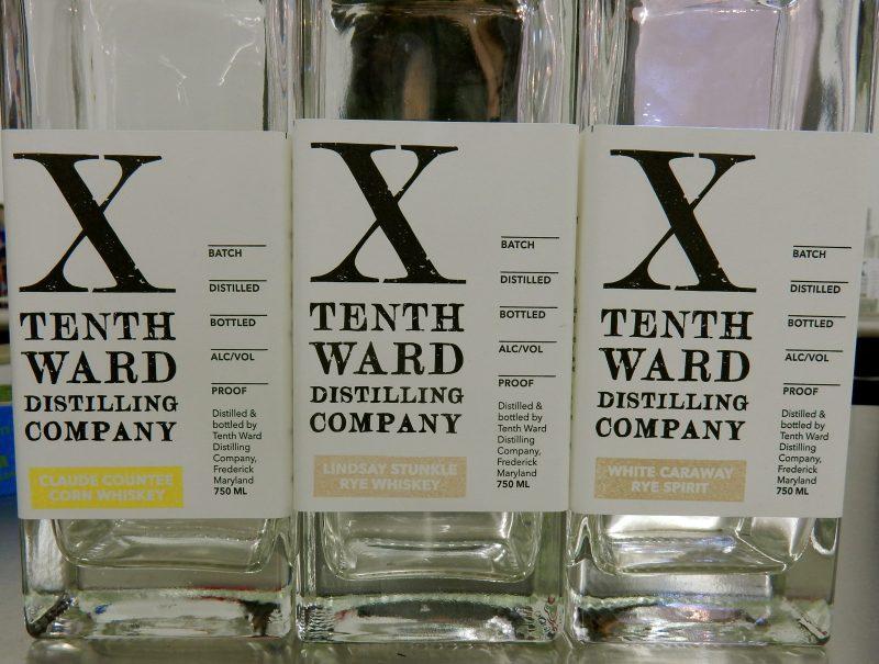 X Ward Distilling Company, Frederick MD