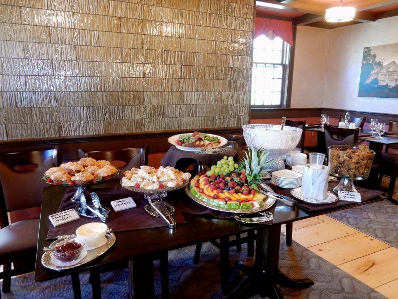 Breakfast Spread, Rabbit Hill Inn, VT