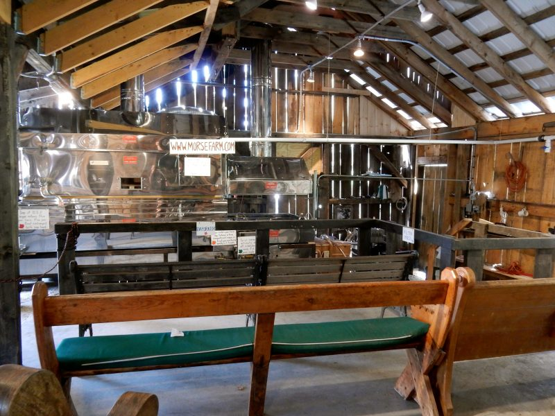 Morse Farm Sugarworks, Montpelier VT