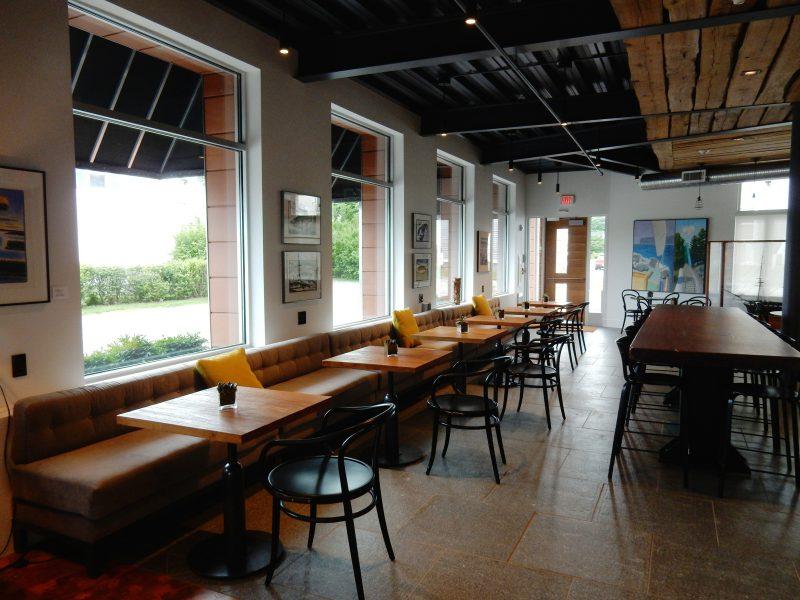 Breakfast area, 250 Main, Rockland ME