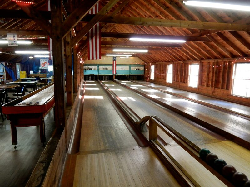 Candlepin Bowling, Sebasco Harbor Resort, ME