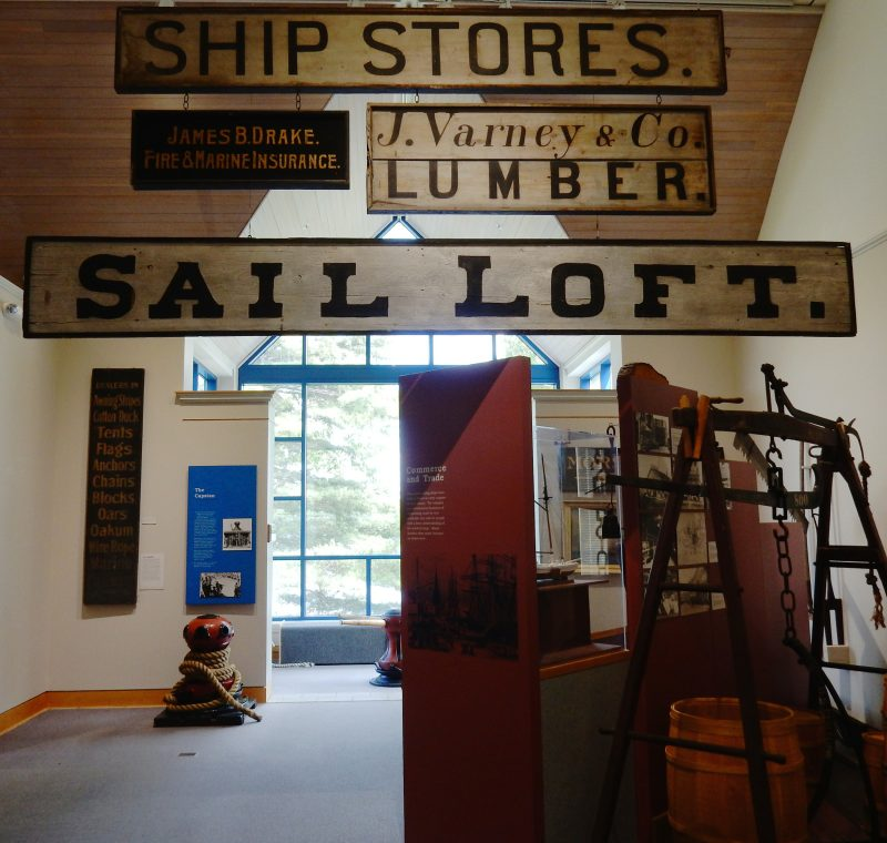 Exhibit, Maine Maritime Museum, Bath ME