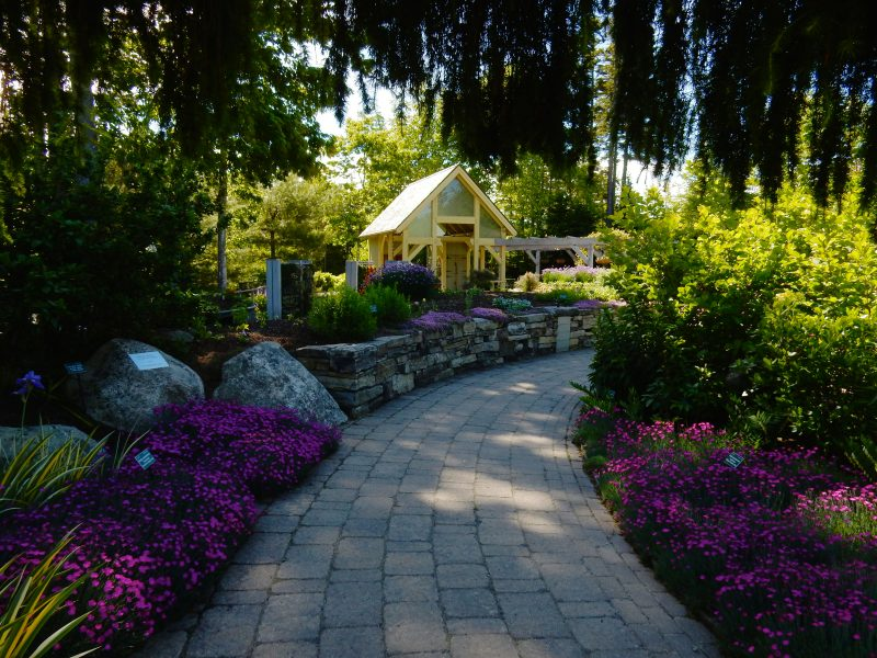 Five Senses Garden, Coastal Maine Botanical Gardens