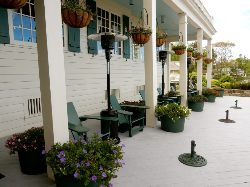 Front Porch, Spruce Point Inn