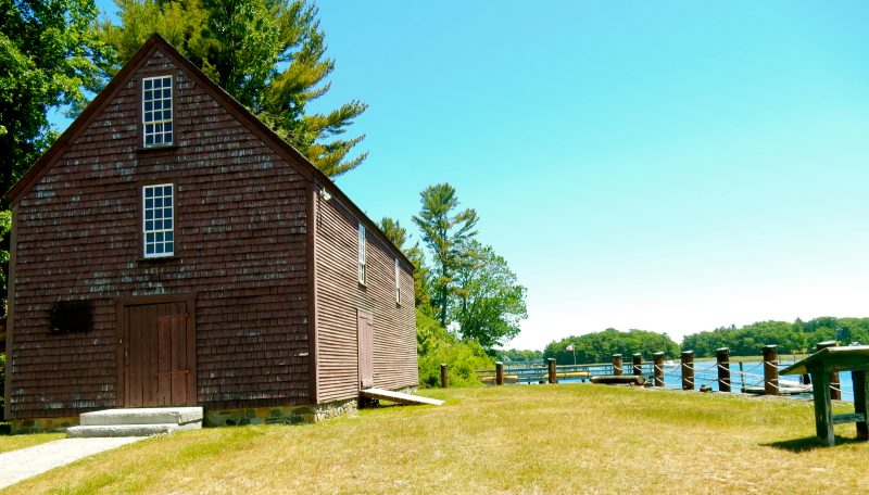 John Hancock Warehouse, York River, ME