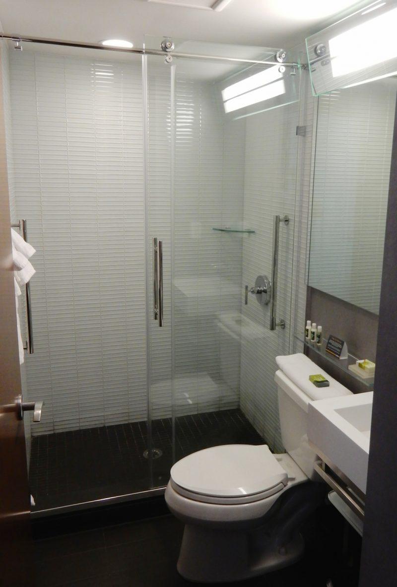 Bathroom, Cambria Hotel Chelsea NYC