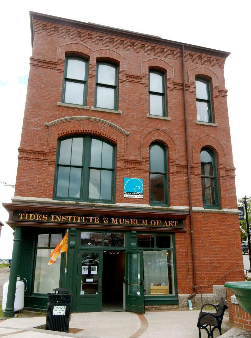 Tides Institute and Art Museum, Eastport ME