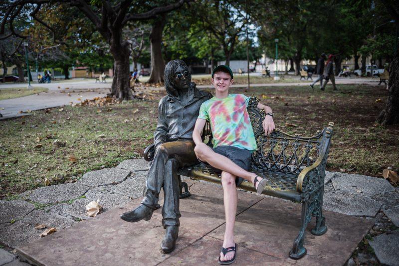 John Lennon Park - Havana Cuba