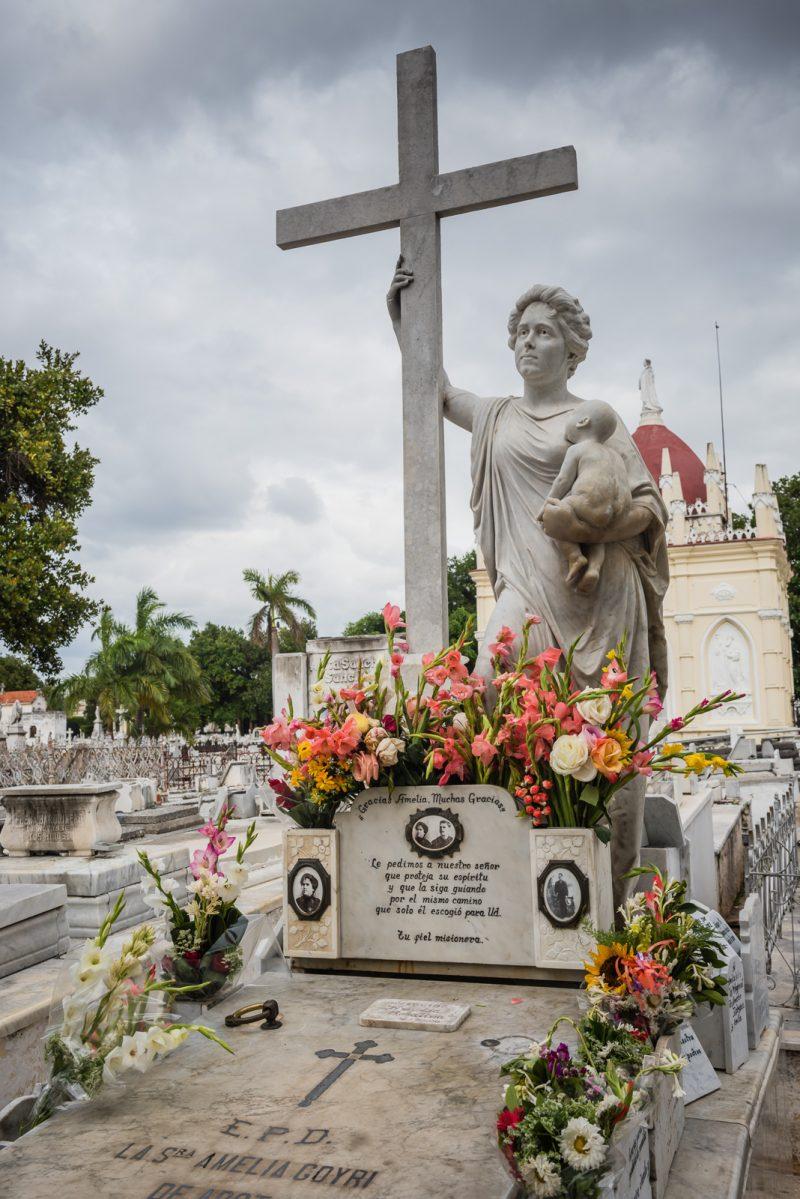 Milagros - Colon Cemetery - Havana Cuba