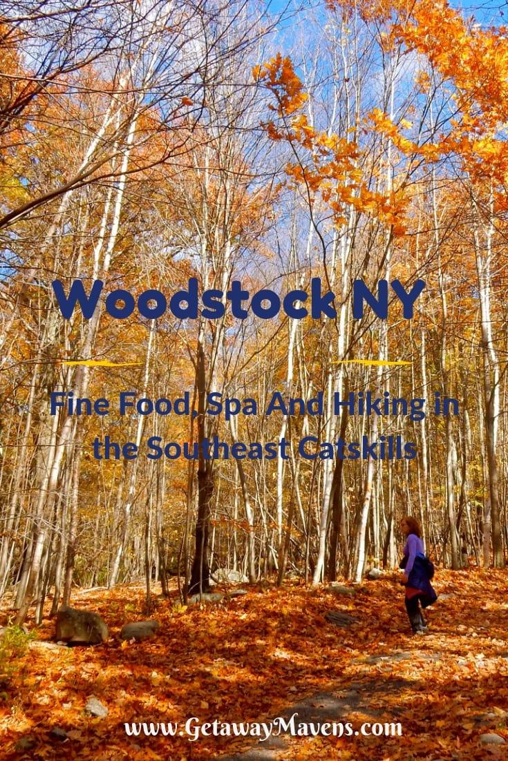 Woodstock NY Pin