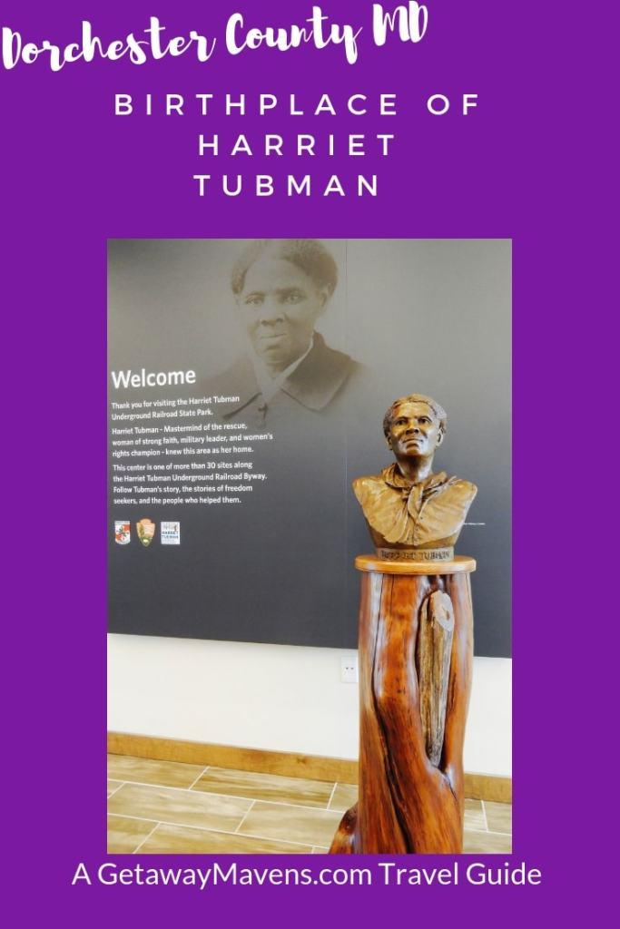 Harriet Tubman Birthplace Pin