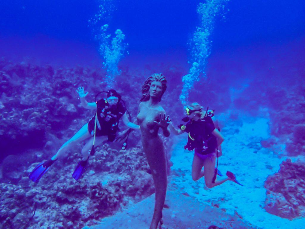 Mermaid Statue Dive - Grand Cayman