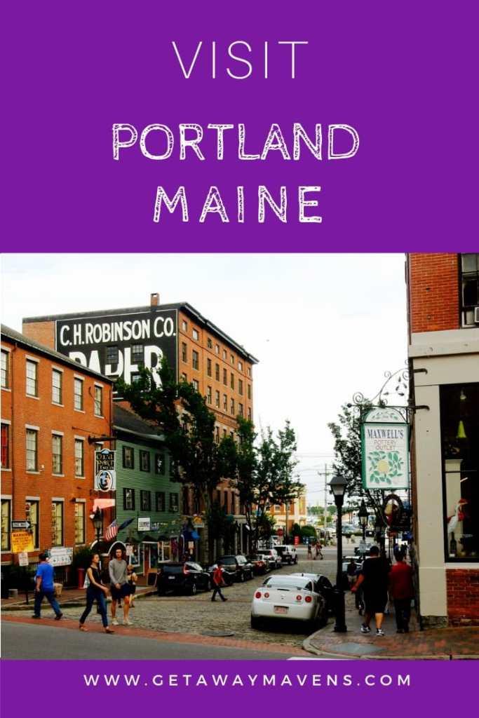 Portland ME Pin