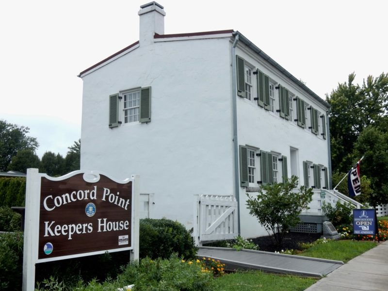 Concord Point Lighthouse Keeper's House, Havre de Grace MD
