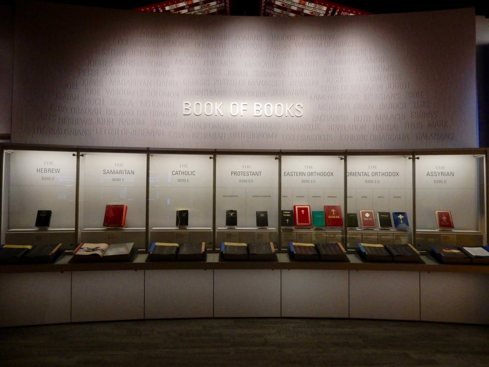 Bibles Through History - Museum of the Bible - Washington DC