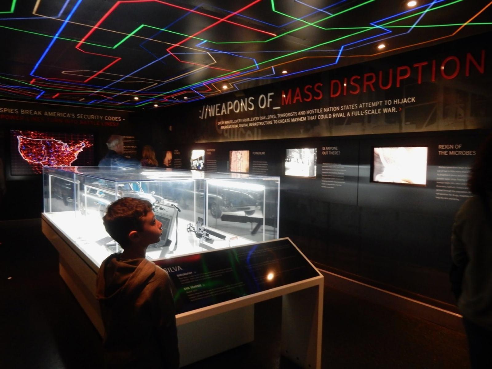 Cyber Spying - International Spy Museum - Washington DC
