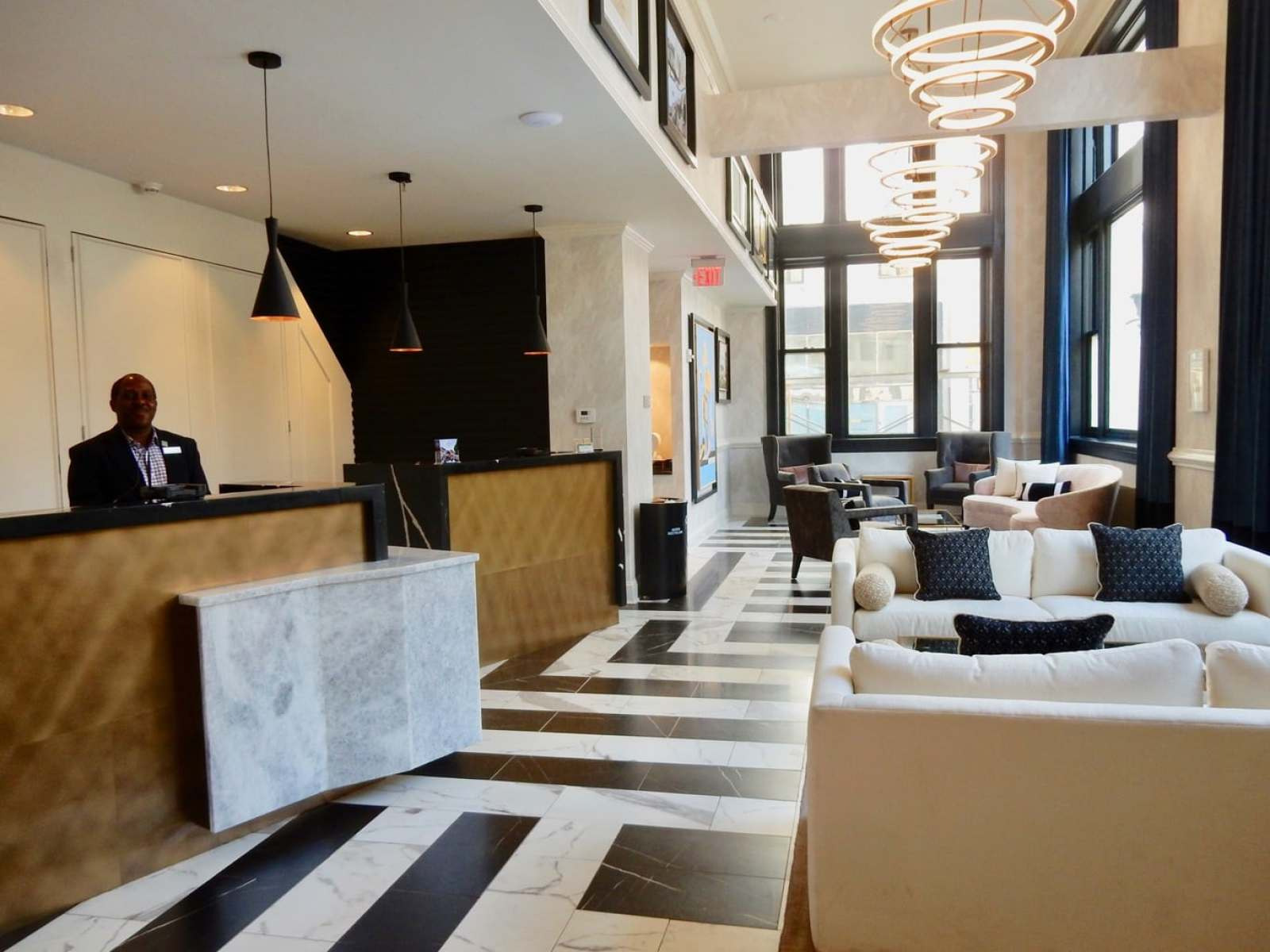 Lobby The Commonwealth Hotel Richmond VA