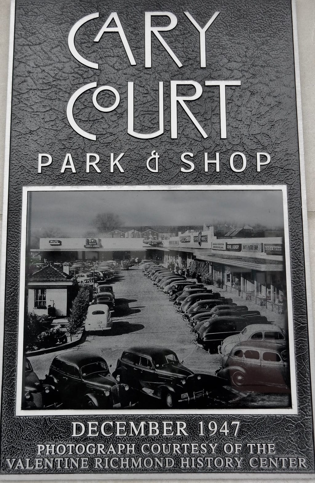 Cary Court Photo, Richmond VA